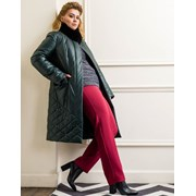 Плащевое пальто, практичность может быть стильной