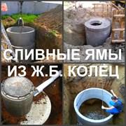 Сливная яма Воронеж устройство, выгребная яма фотография