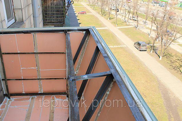 Внутреннее утеппение балкона - балкон, балкон под ключ, балк.
