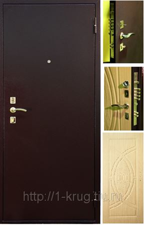 дверь входная уличная теплая металлическая доро 3