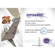Сертификат официального диллера  АЛЬФАПАК