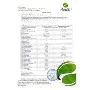 Паспорт качества на масло авокадо