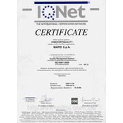 Международный сертификат «Mapei»