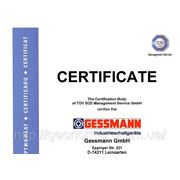 сертификат на промышленное распределительное устройство