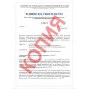 Санитарно-эпидемиологическое заключение на плиты фиброцементные LATONIT