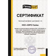 Сертификат ПрофКИП