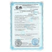 Сертификат соответствия на говядину без кости