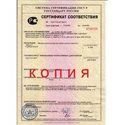 сертификат для рукавной швейной машинки «Версаль».  P.S. только прямые официальные поставщики имеют данный документ