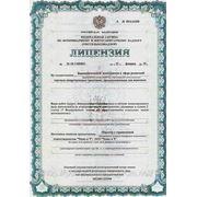Лицензия фармацевтической деятельности в сфере розничной торговли лекарственными средствами, предназначенными для животных.