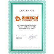 Мы являемся дистрибьютором компании ZHONGDI ELECTRONIC TOOLS