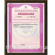 Лицензия на осуществление деятельности по производству лекарственных средств Новосибирского Академгородка.