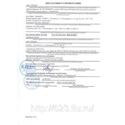 Декларация соответствия счетчик Росконтроль