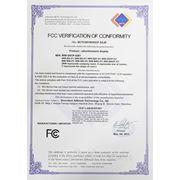 Сертификат FCC BCTC2011010337-SZJR. Сенсорные и рекламные киоски