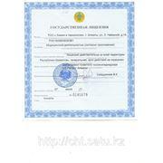 Лицензия на дезинфицирующие средства