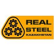 """Логотип компании Индустриальный гипермаркет """"REAL STEEL"""" (Алматы)"""