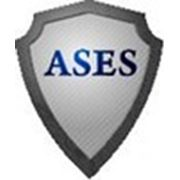 Логотип компании ASES - Агентство системных исследований безопасности (Алматы)