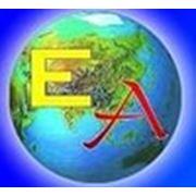 """Логотип компании Автоцентр """"ЕвроАзия"""" (Караганда)"""