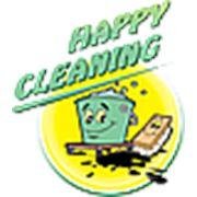 Логотип компании «Happy Cleaning» (Кишинёв)