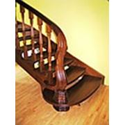 Деревянные лестницы и комплектующие