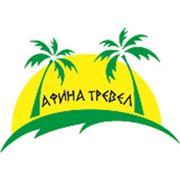 Логотип компании Афина тревел (Алматы)