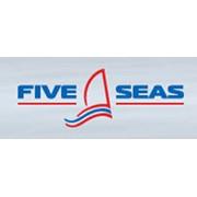 Логотип компании Пять морей (Five Seas), ЧП (Севастополь)