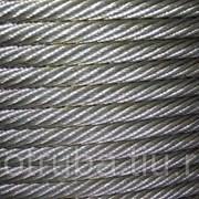 Канат (Трос) стальной 28 мм ГОСТ 16853-88 ОС фото