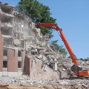 демонтаж зданий и сооружений в Краснодаре фото
