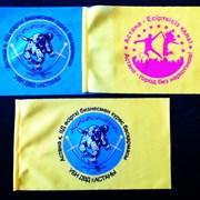 Флаги  и настольные флажки с логотипом фото