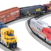 Масштабные железнодорожные модели фото