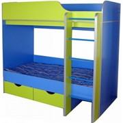 Кровать детская 2-х ярусная фото