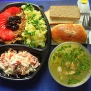 Ежедневная доставка обедов в офисы и предприятия от 4х обедов фото