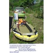 Прокат надувных лодок фото