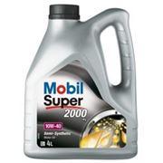 Масло Mobil Super 2000 10w40 п\с (4 л) фото