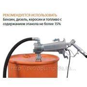 Электрический бочковой насос для перекачки Бензина 24V фото