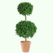 Искусственное дерево самшит шар d 40-50 см фото