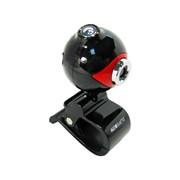 A-16 Global веб камера, 1,3 Mpix, USB 2.0, Красно-чёрный, Зажим, Подсветка: Нет фото