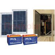 Солнечная электростанция для дачи 1200Вт Союз EX-200Вт 24В 200 А/3 фото