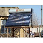 Солнечные водонагреватели СВ-18-150 фото