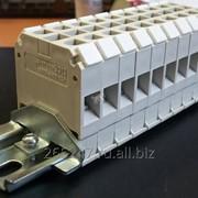 Блок зажимов наборных мостиковых БЗН27-10М63 фото