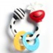 Развивающая игрушка-погремушка - Коровка фото