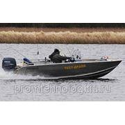 Моторно-гребная лодка ДМБ-480 ДК с двойной консолью фото