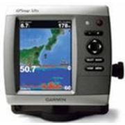 Картплоттеры c эхолотом.Garmin GPSMAP 526S в комплекте с датчиком эхолота. фото