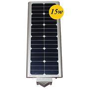 Уличный фонарь на солнечной батарее 15W, Датчик движения фото