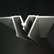 Профиль алюминиевый разделительный фото