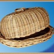 Хлебница из лозы фото