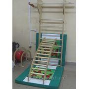 Мостик - качалка-лестница малый навесной