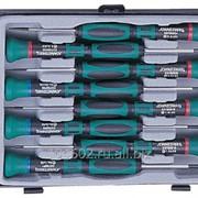 Набор отверток для точной механики, 50 мм, шлиц 1.0-3.0 и крест PH# 0.00-1, 8 предметов, код товара: 48654, артикул: D3750P08S