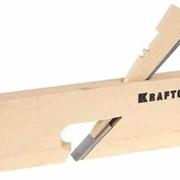 Рубанок KRAFTOOL Зензубель деревянный, 18x250мм. Артикул: 18520-18 фото