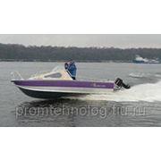 Катер лодка Вымпел 560 В фото