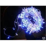 LED (светодиодный) световой дождь ,230V, прозрачный ПВХ кабель (основной фото